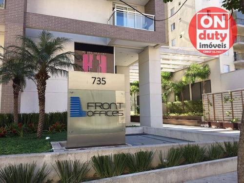 Ed Front Offices Conjunto, 34 M² - Venda Por R$ 220.000 Ou Aluguel Por R$ 1.500/mês - Centro - Diadema/sp - Cj0055