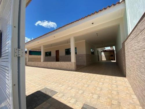 Casa Com Edícula No Litoral De Itanhaém - 7469