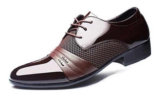 Zapatos De Charol Oxford Importados. Nro.44 Nuevos