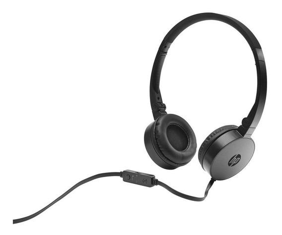 Headset Hp H2800 Dobrável Preto