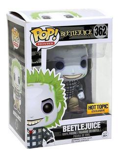 Beetlejuice Hot Topic Exclusive Funko Pop