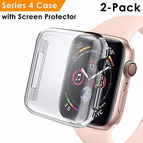 Ezco Juego De 2 Fundas Para Apple Reloj Serie 4 1575 En Tpu
