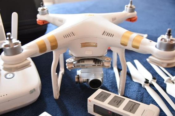 Drone Dji Phantom 3 Professional + Mochila E 3 Baterias