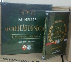 Palmeiras - Dvd - Livro - Cd - Imagem Real Do Produto