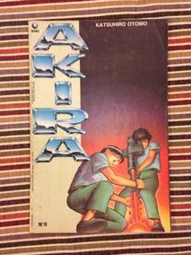 Akira Número 8 Original Editora Globo, Raridade, Mensal