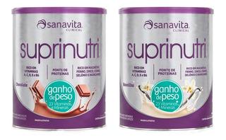 Kit 2 Suprinutri (ganho De Peso) - 400 Gramas - Sanavita