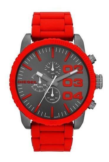 Relógio Diesel Masculino Vermelho - Idz4289/z