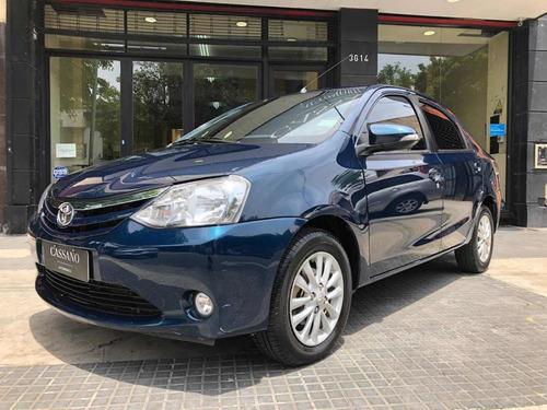 Toyota Etios 1.5 Sedan Xls Azul 2016 Cassano Automobili