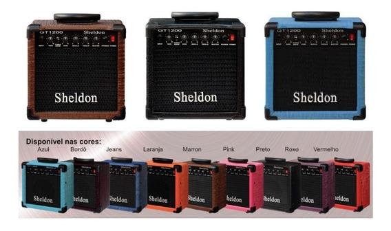 Amplificador Guitarra Sheldon Gt1200 Varias Cores 15w Oferta