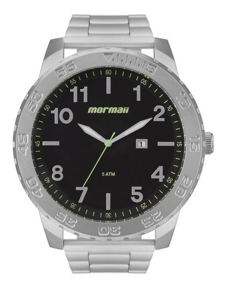 Relógio Mormaii Masculino Mo2115bd/1p Aço Oferta