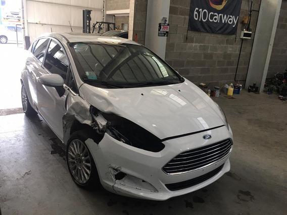 Ford Fiesta Kd Titanium Ps 2016 Chocado Aa113