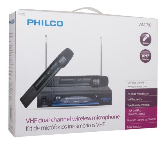 Micrófonos Inalámbricos - Philco