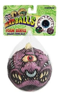 Pelota Madballs Horn Head Foam Serie 1 Kidrobot 10 Cms