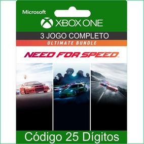 Need For Speed Conjunto Ultimate Código 25 Dígitos Para Xone