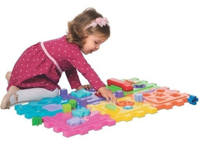 Brinquedo Educativo Cubo Didático Telefone Encaixar Grande
