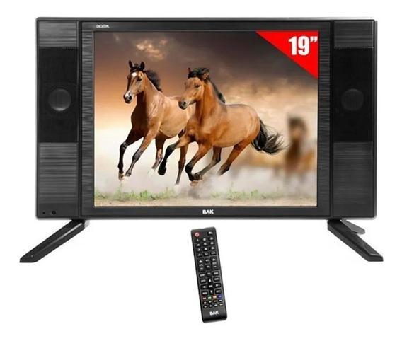 Tv Led 19 Bak Bk-1950 Hd Com Hdmi Usb + Conversor Digital