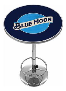 Blue Moon Cromado Pub Table
