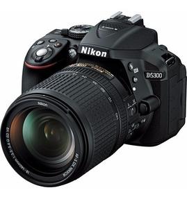 Câmera Digital Nikon Dslr D5300 24.2 Mp 18-140mm