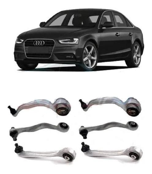 Kit Braço Suspensao Dianteiro Audi A4 A6 2009 A 2013