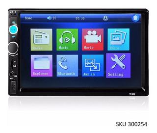Radio Carro Pantalla Touch Bluetooth W01