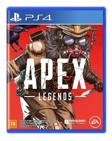Apex Legends Bloodhound Ps4 Mídia Física Novo Lacrado