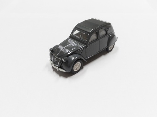 Miniatura Citroen Origines 2cv Norev Escala 1/54 Amc019088