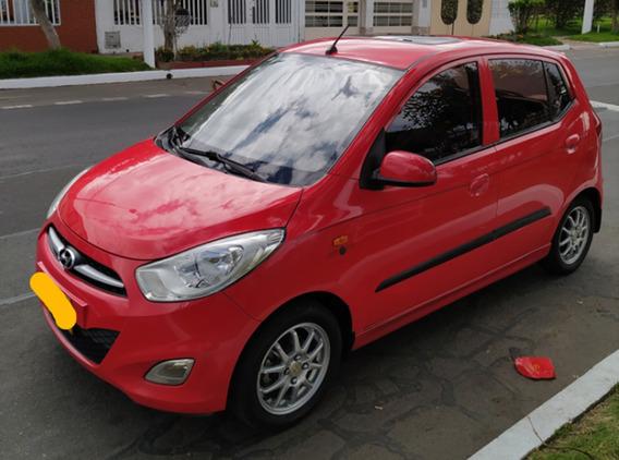 Espectacular Hyundai I10 Sport 2013 1.100 5p Rojo