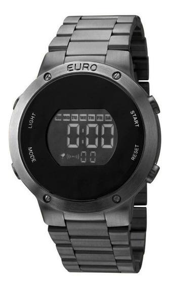 Relógio Euro Feminino Preto Digital Eubj3279ab/4p Digital