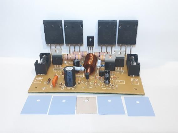 Placa Amplificador 250w Montada Com C5200 E A1943.