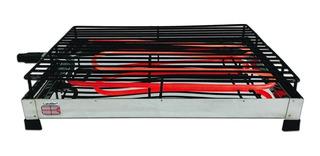 Parrilla Eléctrica Caloblin Flat Grill - 100% Acero Cap. 7kg