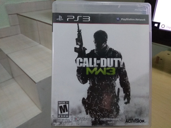 Jogo Playstation 3 Ps3 Call Of Duty Modern Warfare 3 Usado