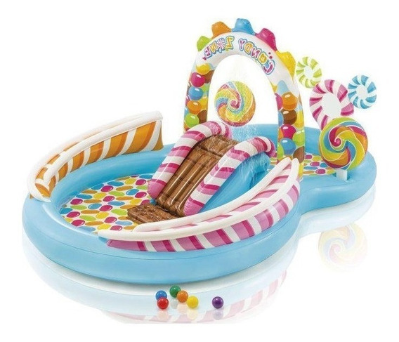 Playcenter Candy Zone Dulces Inflable Intex #57149