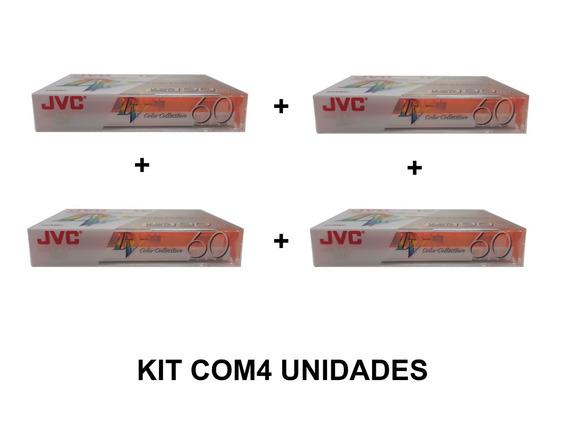 Fita De Video Mini Dv M-dv60 Jvc Kit Com 4 Unidades