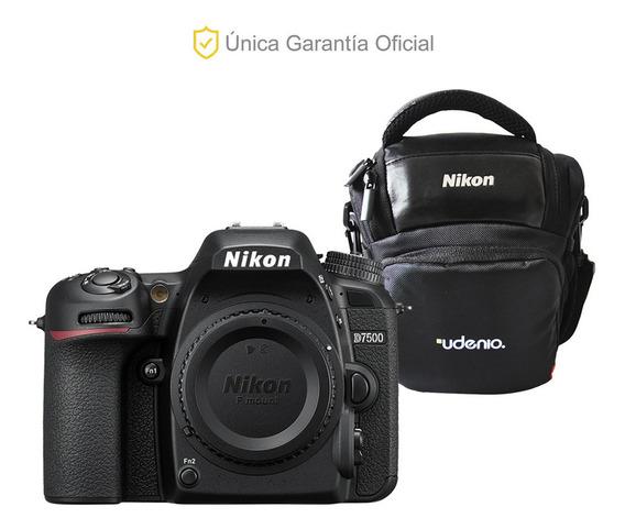 Nikon Oficial D7500 Cuerpo Y Estuche