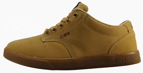 Tênis Qix Base Mid Caramelo/natural 107504 - Nota Fiscal