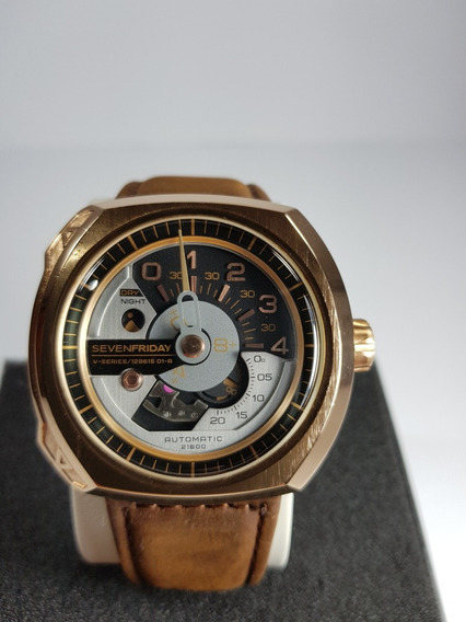 Reloj Sevenfriday Serie V2-01 Rose Gold Fotos Reales