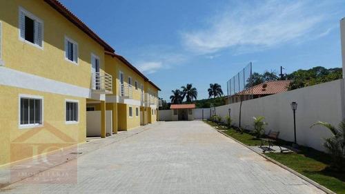 Casa Com 3 Dormitórios À Venda, 96 M² Por R$ 292.000,00 - Centro - Vargem Grande Paulista/sp - Ca0755
