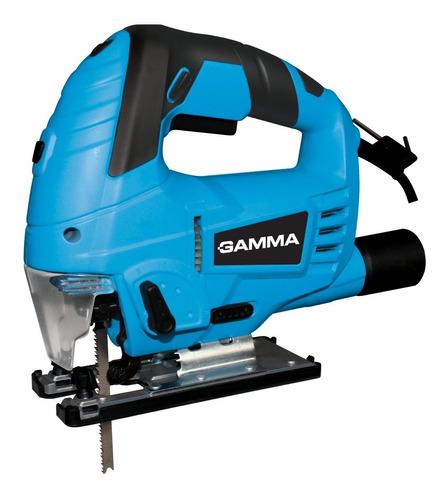 Sierra Caladora Pendular Gamma 800 Watts Guia Laser Y Hojas