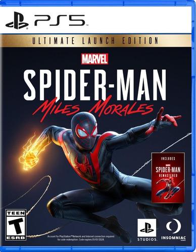 Imagen 1 de 1 de Spiderman Miles Morales Ultimate Edition Ps5