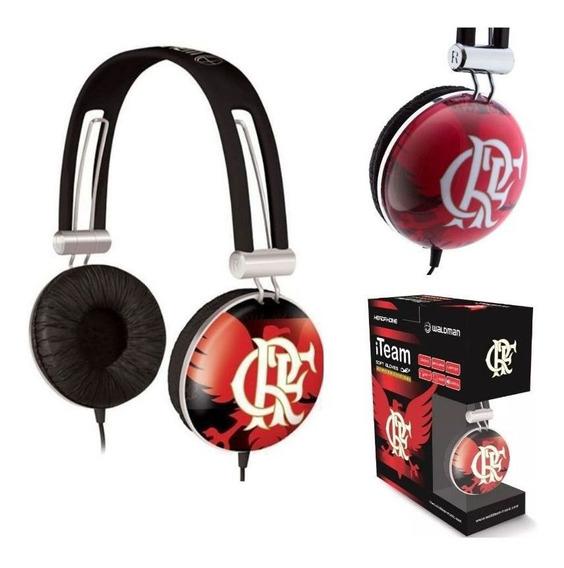 Fone De Ouvido Waldman Flamengo Oficial Headphone