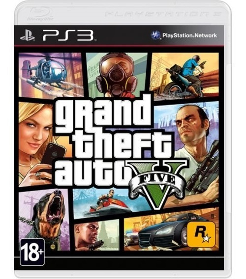 Grand Theft Auto V Gta 5 - Mídia Física / Ps3