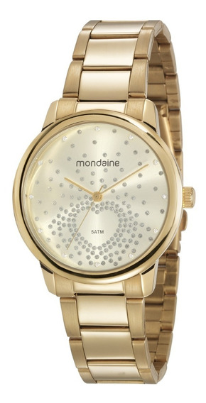 Relógio De Pulso Feminino Mondaine Cód. 53699lpmgde1