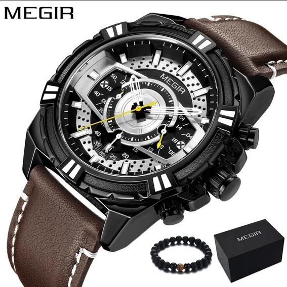 Relógio Megir 2118 Original A Prova D
