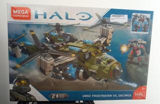 Halo Unsc Frostraven Vs Decimus 1489pzas Mega Construx