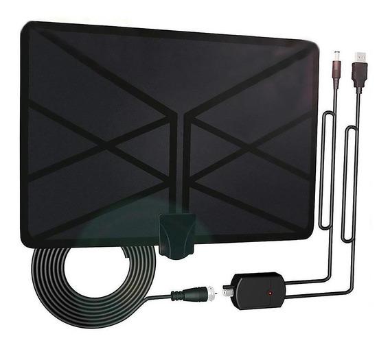 960 Milhas Tv Antena Interior Amplificada Digital Hdtv 4k Hd
