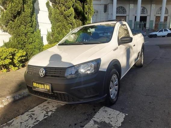 Volkswagen Saveiro Robust 1.6 Cs Flex Completo 2018 Branco