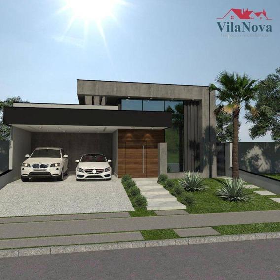 Casa Com 3 Dormitórios À Venda, 187 M² Por R$ 900.000 - Jardim Esplanada - Indaiatuba/sp - Ca1515