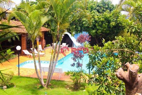 Imagem 1 de 13 de Chácara Com 6 Dormitórios À Venda, 2000 M² Por R$ 1.060.000 - Nova Rheata - Boituva/sp - Ch0054