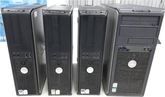Lote Desktop Dell Cpu Xp Vista Pentium 14 Unidades