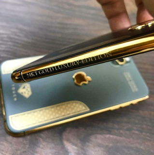 iPhone 11 Pro Max Gold Luxury Edition 24kt